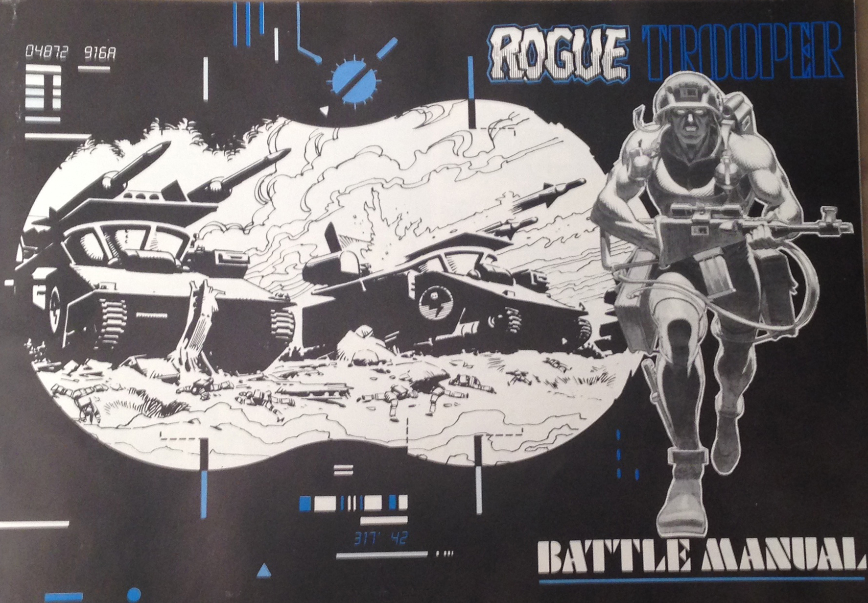Rogue Trooper | Mars Will Send No More | 1231x1773